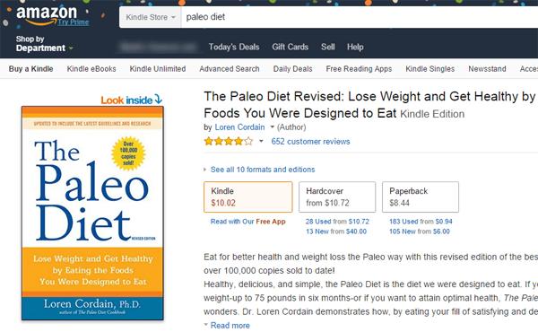 Buku paleo diet
