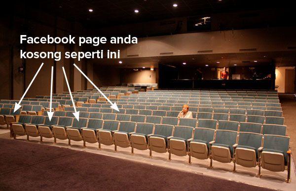 Facebook page kosong