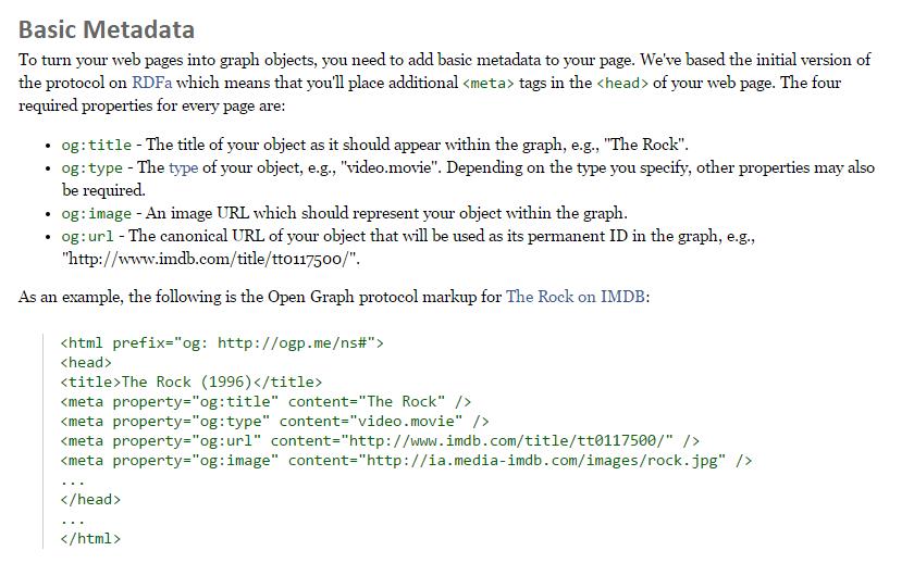 Penerapan open graph meta tag