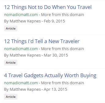 Artikel terpopuler NomadicMatt