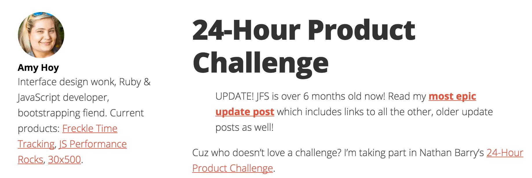 24 hour challenge unicornfree
