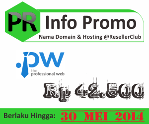 Promo nama domain dot pw