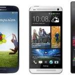 3 Full HD Smartphone 2013 - Xperia Z, Galaxy S4, HTC One