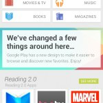 Google Play 2013 Redesign