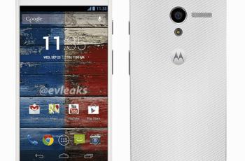 Moto X dari Motorola Putih