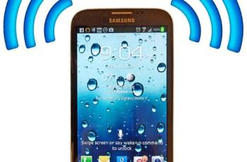 Samsung Galaxy Note 3, Cara Setting Hotspot
