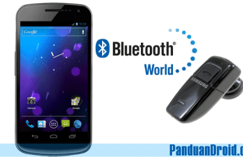 Bluetooth, Samsung Galaxy Nexus