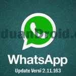 Aplikasi android, WhatsApp Messenger, Download Update