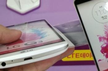 LG G3, Rumor