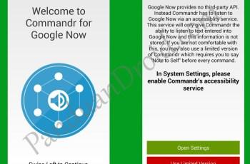 Samsung Galaxy S5, Google Now, Kontrol Suara