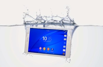 Tablet tertipis, Sony Xperia Z3 Tablet Compact, IFA 2014