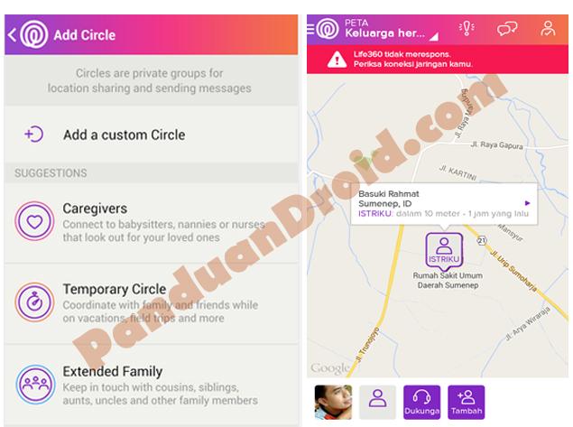 Pantau Keberadaan Keluarga Anda Dengan Life360 Tip Trik Panduan Android Indonesia