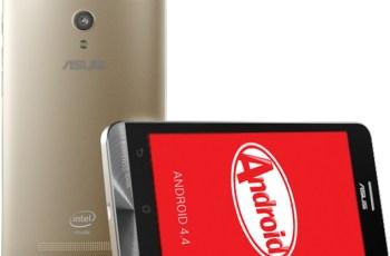 Asus, ZenFone 4, ZenFone 5, Android KitKat, update