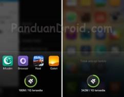 Cara mudah menampilkan aplikasi yang jalan dibalik layar di Redmi 1S