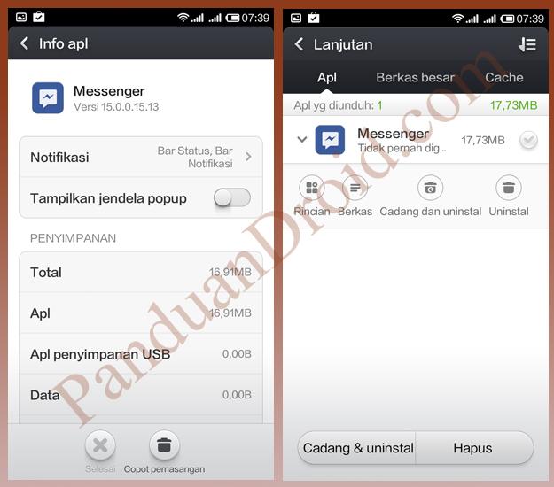 Uninstall aplikasi android, Xiaomi, Redmi 1S, Tips Redmi 1S