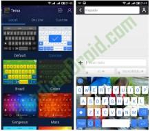 Download Gratis –  Keyboard Multicolor + Emoji unik di Play Store
