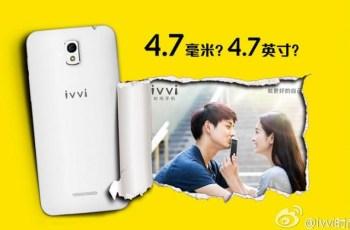 Ivvi, smartphone paling tipis, ponsel Cina