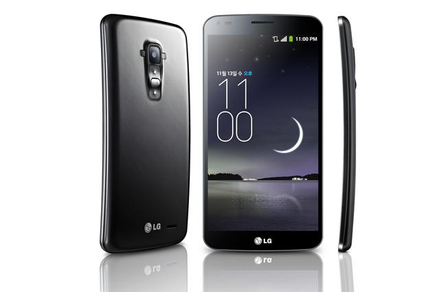 LG, G Flex2, CES 2015