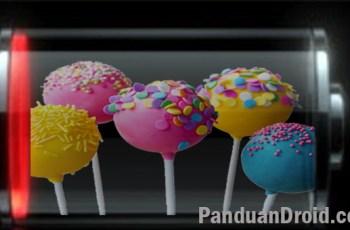 Android 5.0, Lollipop, boros batterai, batterai booster