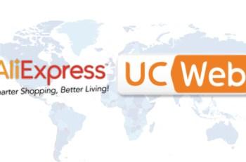 AliExpress, UC Browser