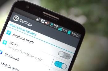 LG G2, Hemat batterai, Tips android