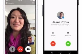 Facebook, Video Call, Facebook Messenger