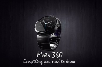 Motorola, Moto 360, Android Wear