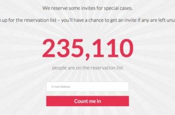 Reservasi Online, OnePlus 2