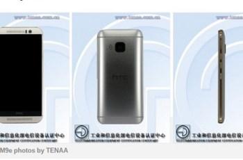 HTC One M9e, TENAA