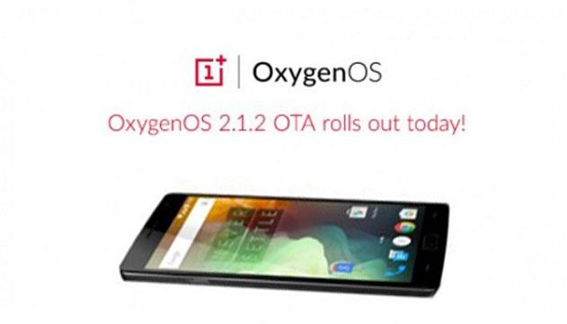 OxygenOS 2.1.2, OnePlus 2