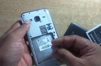 Cara Cek IMEI, Samsung Galaxy J1