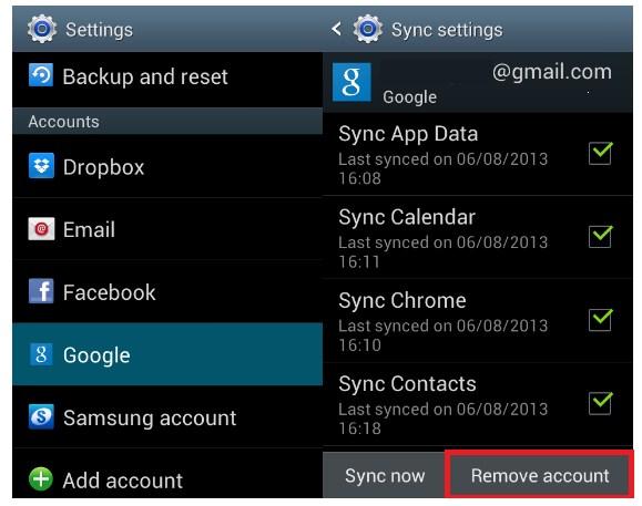 Gmail, Google Akun