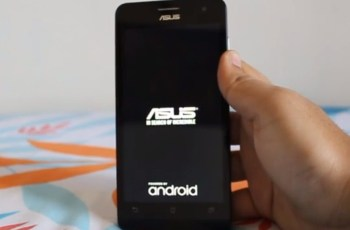 Asus Zenfone 5, Boot loop, Reset Factory