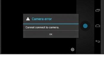 Cara Mengatasi Kamera error