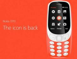 Ini Foto dari Nokia 3310 Tahun 2017 yg di umumkan di MWC 2017
