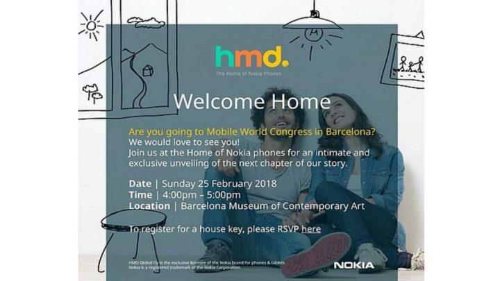 HMD Global Pada MWC 2018