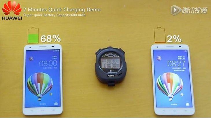 Huawei Ciptakan Teknologi Fast Charging