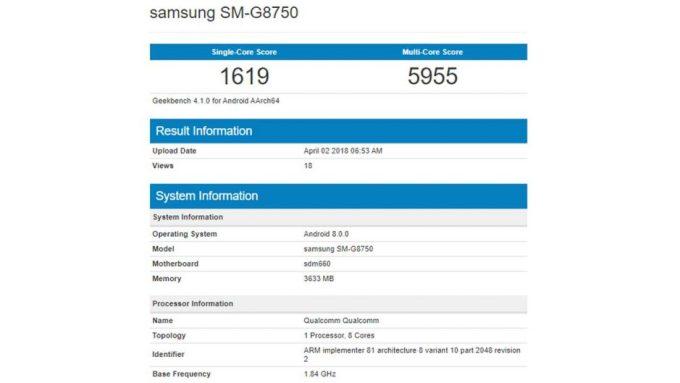 Samsung Galaxy S9 Mini Geekbench