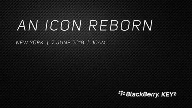 BlackBerry KEY2 Invitation
