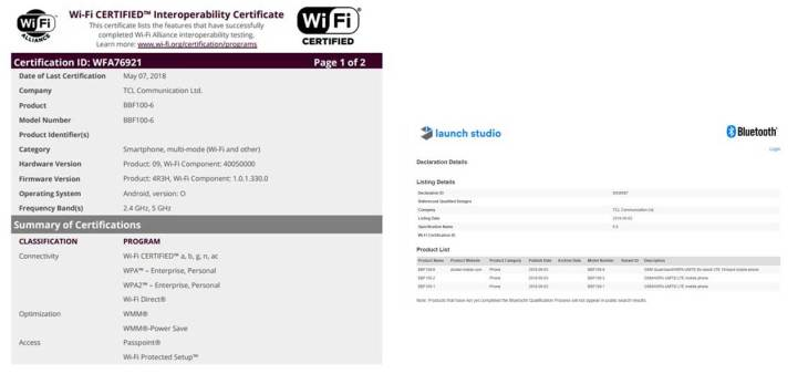 BlackBerry KEY2 WiFi Alliance