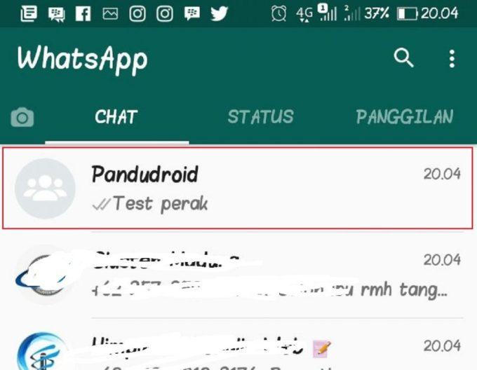 Grup WhatsApp 4