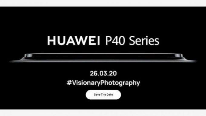 Peluncuran Huawei P40 Series