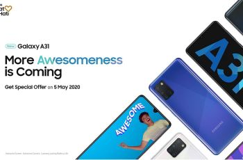Peluncuran Samsung Galaxy A31