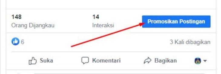 Cara Promosikan Postingan
