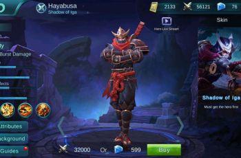Hero Hayabusa Mobile Legends