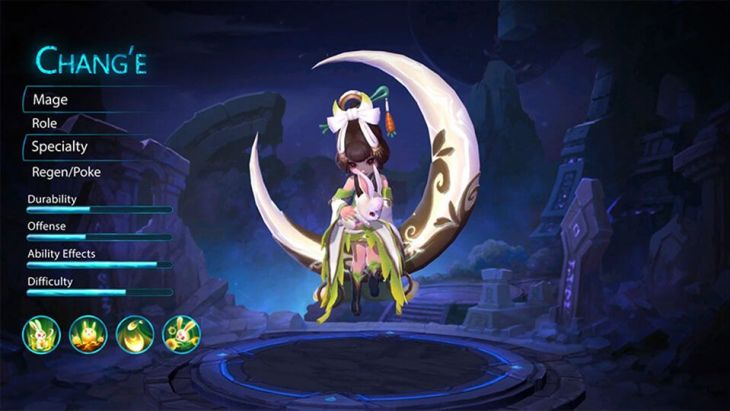Hero Mage Chang'e