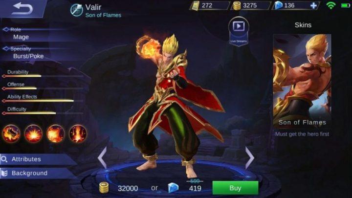 Hero Mage Valir