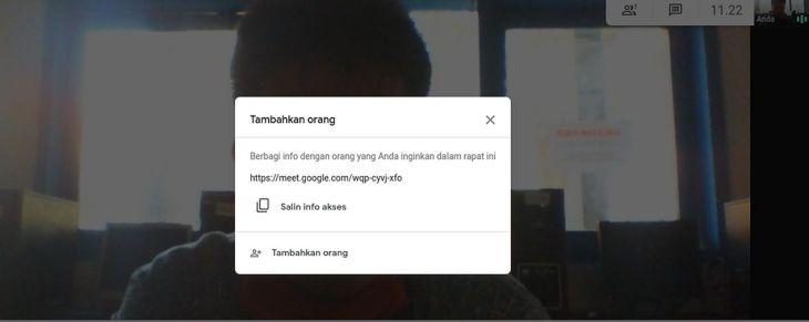 Kode Rapat Google Meet