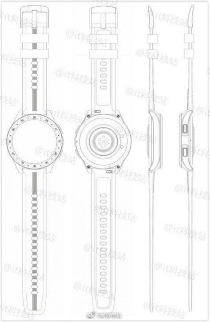 Sketsa Smartwatch Vivo