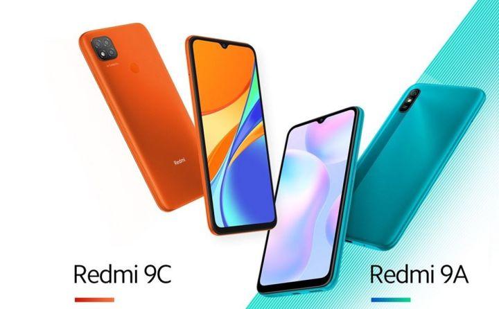 Tampilan Xiaomi Remdmi 9A dan Redmi 9C